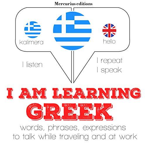 I am learning Greek audiobook cover art