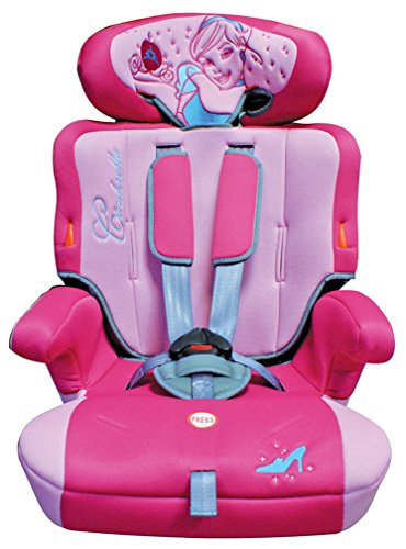 Disney Baby Child Seat Princess 1/2/3 9-36 Kg (12 Months, Pink)
