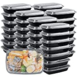 Meal Prep Containers Reusable, 26 oz. [50 Pack]-1...