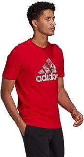 Adidas Front Three Stripe Round Neck Short Sleeves T-Shirt For Men XL