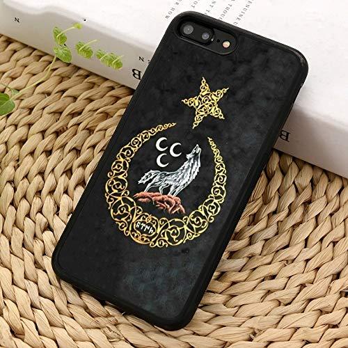 WGOUT Funda para teléfono con Bandera de la República para iPhone 5 6S 7 8 Plus 11 12 Pro X XR XS MAX para Samsung Galaxy S6 S7 S8 S9 S10, para iPhone XSmax
