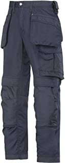 Snickers 32119595052 Cooltwill Trousers, Navy, Size 36R