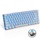 UrChoiceLtd® Ajazz Geek AK33 Backlit Usb Wired Gaming Mechanical Keyboard Blue Black Switches