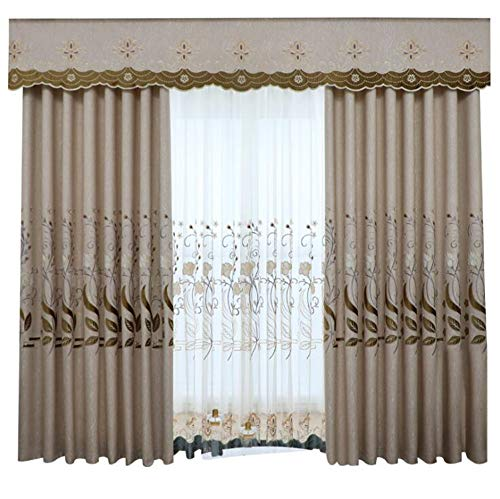 yizheng Modern Minimalist European Style Curtains for Living Room and Bedroom Floor New Blackout Curtains