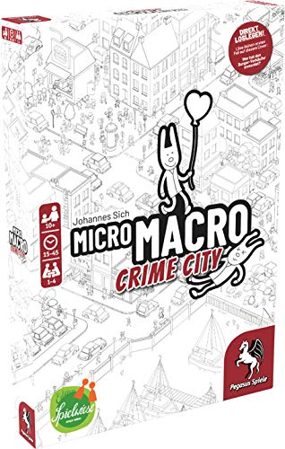 Pegasus Spiele 59060G - MicroMacro: Crime City (Edition Spielwiese)