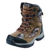 Northside Boys' Renegade 400 Hiking Boot, Tan Camo, Size 7 Medium US Big Kid