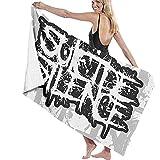 Abel Berth Suicide Silence Logo Toalla de baño Extra Grande de Felpa Suave Toalla de Playa Ligera de Secado rápido para Acampar en la Playa Yoga o baño
