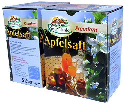 Apfelsaft aus heimischem Bodensee Obst in der praktischen 5 Liter Bag-in-Box - naturtrüb (1)