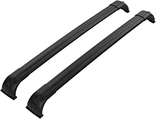 Qiilu 45inch Roof Rack Cross Bars for Land Rover Discovery 4 LR4 2010 2011 2012 2013 2014 2015 2016, Luggage Carrier Kit Heavy Duty Cargo Racks 165lbs Load Capacity