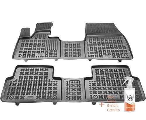 Tappetini in Gomma compatibili con BMW i3 (dal 2013) + detergente per plastica (Regalo)