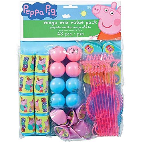 amscan Bolsa juguetitos Peppa Pig (48)