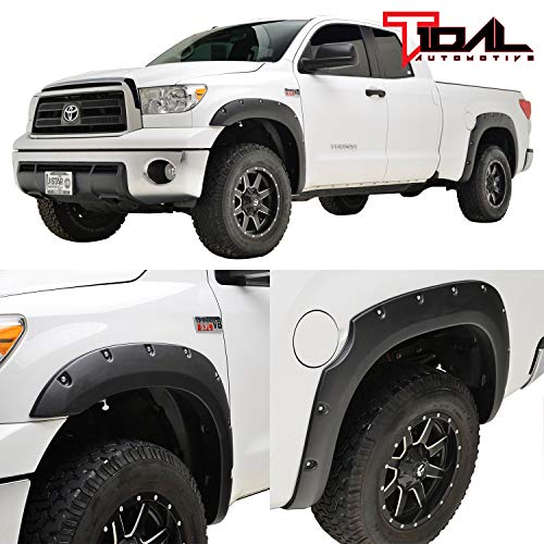 Tidal Fender Flares Pocket Rivet Style for 07-13 Toyota Tundra