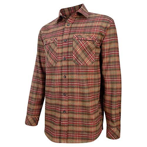 Hoggs of Fife Countrysport Chasse Chemise Rouille Carreaux Manteaux & Vestes - Carreaux, XL
