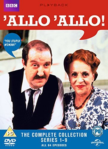 'Allo 'Allo!: Complete Series 1-9 [16 DVDs] [UK Import]