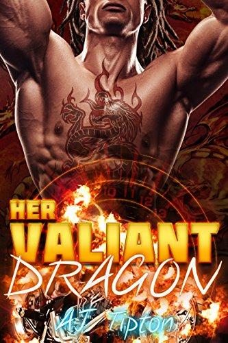 Her Valiant Dragon: A BBW Interracial Paranormal Romance (Her Biker Dragon Book 1) (English Edition)