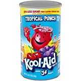 Kool-Aid Tropical Punch Flavored Caffeine Free Powdered Drink Mix (82.5 oz Canister)