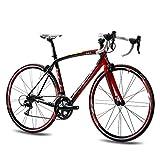 Shimano 105 - Rueda de bicicleta de carreras KCP de carbono (28', 71 cm, 20g)