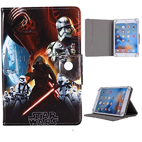 Heroes & Disney Character Tablet Cases For Samsung Galaxy Tab 4 8 inch SM T330 T331 T335 T337 Kids Cover (Star Wars)