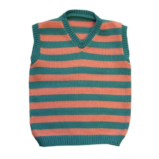 100-Merino-Wool-Baby-Vest-boy-Girl-Toddler-Children-Knitted-Sweater-Striped-Sleeveless