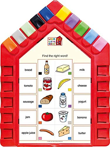 Logo Lernhaus: Set 4 First English 6-7-jährige Kinder