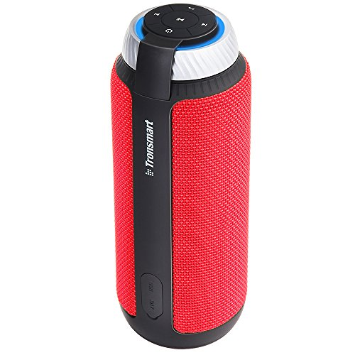 Tronsmart Altoparlante Bluetooth Speaker Subwoofer T6 Cassa Bluetooth 25W, 15 Ore di Gioco, Microfono Incorporato per iPhone Android Tablet PC, ECC Rosso