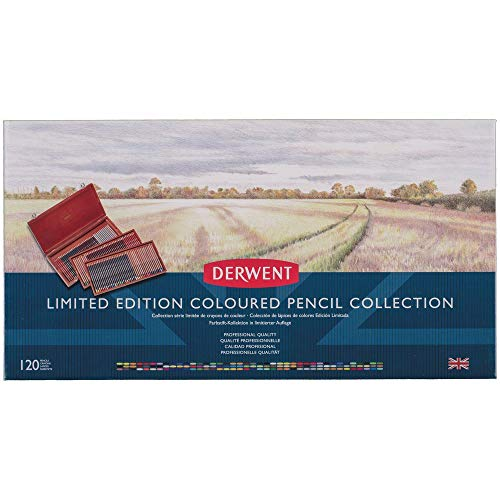 Derwent Limited Edition Colored Pencil Collection, for Artist, Drawing, Professional, 120 Pack (2302731)