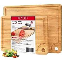 Caperci 2-Piece Bamboo Cutting Board Set