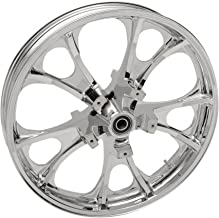 Coastal Moto Front Chrome 21x3.5 Largo 3D Wheel with ABS - 3D-LGO213CH-ABS Harley