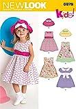 New Look 6879, Misura A-Cartamodello per Vestiti per Bambini, Multicolori