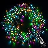 Guirlande Lumineuse GlobaLink LED Colorée Pour Noël, 20M 200 LED Guirlandes Lumineuses Lumières de Noël Multicolores...