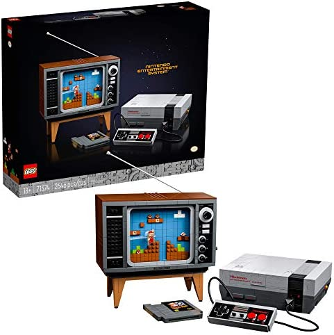 LEGO Nintendo Entertainment System 71374 Building Kit Creative Set for Adults Build Your Own product image