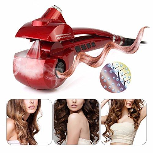 Hair Curler LuckyFine US Plug Steam function...