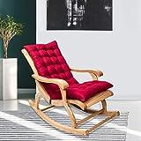 Creacom Cojines para sillas de Patio, Cojines para tumbonas, Cojines para Patio con luz Solar,...