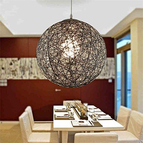 Global-Ma palla rotonda vivente pastorale sala bar ristorante letto lampadario