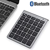 Bluetooth Numeric Keypad, Wireless Number Pad, Acedada Slim Portable 28-Keys : Financial Accounting Data Entry External...