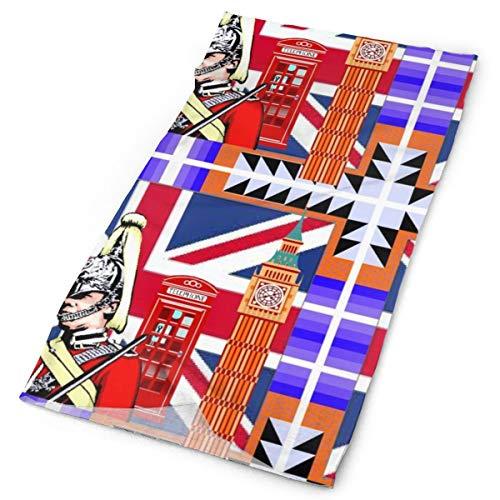 Britain - Pañuelo para la cabeza, diseño de bandana