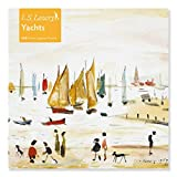Adult Jigsaw Puzzle L.S. Lowry: Yachts (500 pieces): 500-piece Jigsaw Puzzles