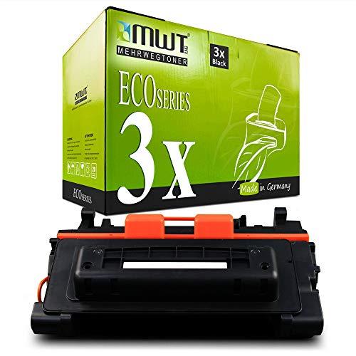 3X MWT kompatibel Toner für HP Laserjet M 4555 f h fskm MFP ersetzt CE390A 90A