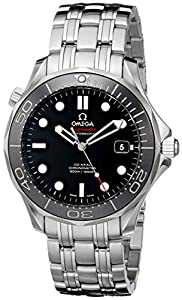 Omega Men's 212.30.41.20.01.003 Seamaster Black Dial Watch image