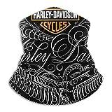 Harley Davidson - Ghetta per collo unisex per Harley Davidson, con scaldacollo e passamontagna, lavabile, traspirante, per yoga, corsa, escursionismo