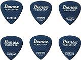 BANEZ Flat Pick Rubber Grip - Pinzas para el pelo (6 unidades), color azul