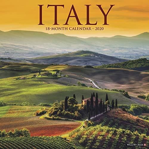 Italy 2020 Wall Calendar