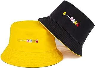 TIMWIL Women Cotton Bucket Hat Fashion Fisherman Hat Summer UV Protection Sun Hat for Teen-girls