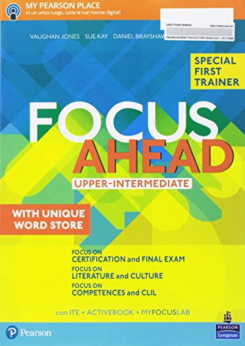 Focus ahead. Upper intermediate. Per le Scuole superiori. Con e-book. Con espansione online [Lingua inglese]
