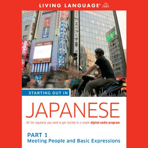 Couverture de Starting Out in Japanese: Part 1