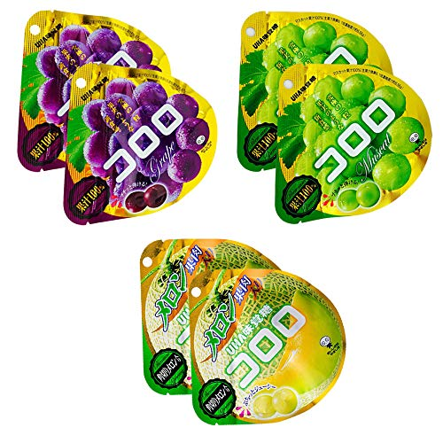 Cororo Fruit Taste Gummy Candy 14oz 3Types × 2pcs Japanese Uhamikakuto Ninjapo