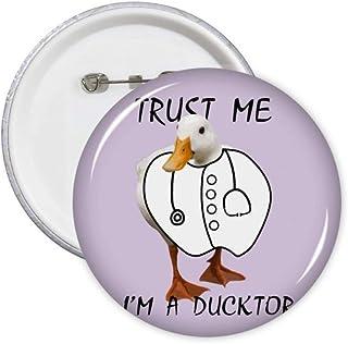 Duck Doctor Lot de 5 badges pour stéthoscope