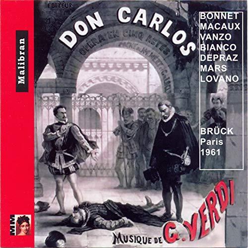 Don Carlos, Act II: A minuit, aux jardins de la Reine