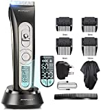 Hair Clippers Trimmer - Professional Cordless Hair, Beard and Body Hair Trimmer