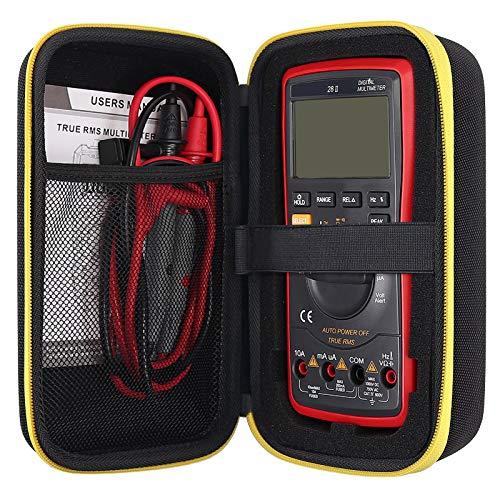 Multimeter Carrying Case Compatible for Fluke 117/115/ 116/114/ 113 87V 88V F15B+F17B+F18B+ / F117C/ F17B+/ F115C, also fit for most AstroAI, Crenova, Etekcity, KAIWEETS, INNOVA, Klein, Tacklife, etc.